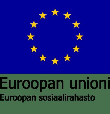 Euroopan sosiaalirahaston tunnus.