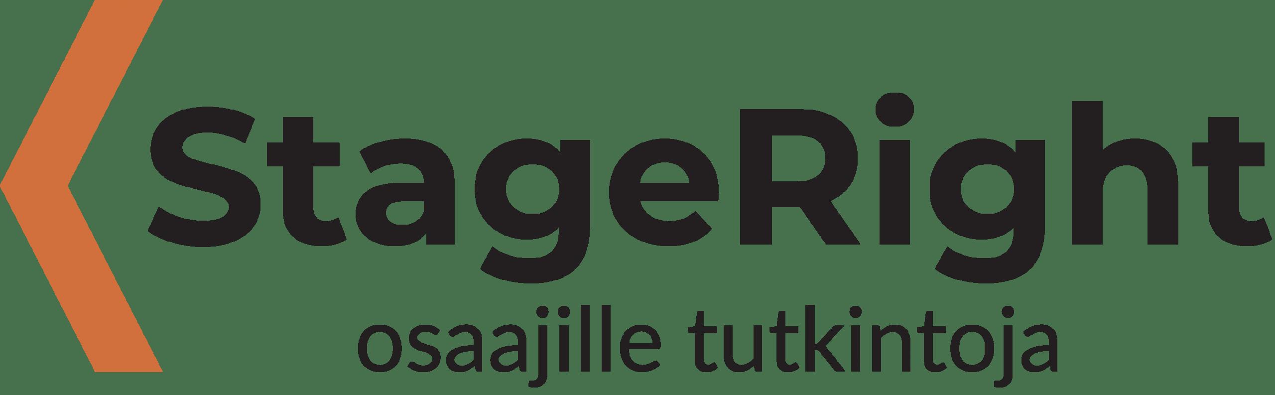 StageRight-hankkeen tunnus.