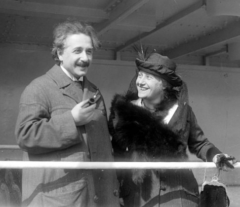 Albert ja Elsa Einstein