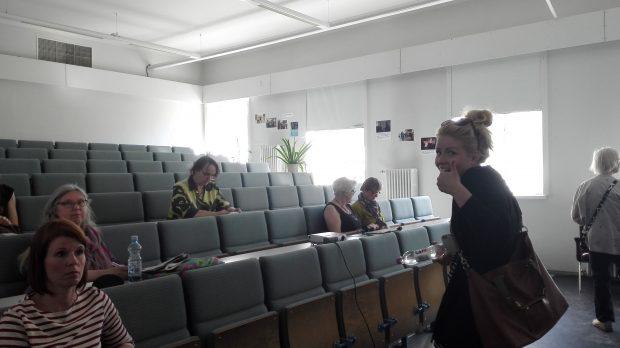 Oppimisen ilo ja sinnikkyys Palokangas luentosali