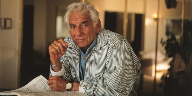 kapellimestari ja säveltäjä Leonard Bernstein