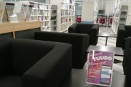 Muutot on ohi ja Karamalmin kampuksen kirjasto avattu!