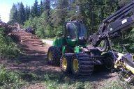 Työhyvinvointia yhteisesti kehittämällä metsäkonealalla