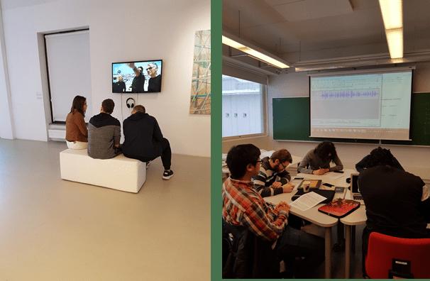 Audiotyöpaja kokeilussa ammattikorkeakouluopiskelijoilla ja Puolan yläkoululaisilla
