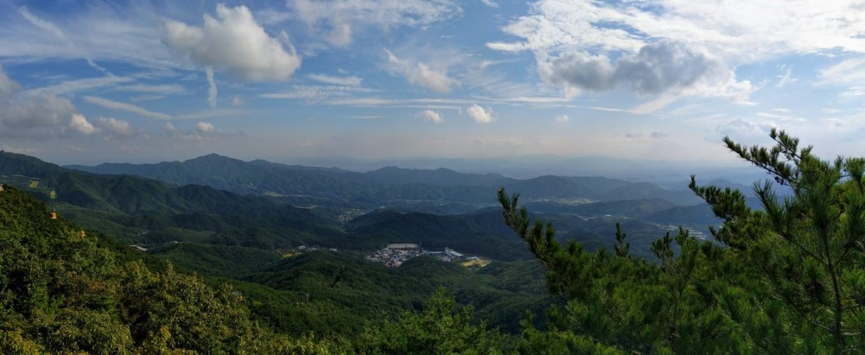 Scenery in South Korea.