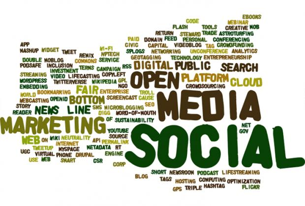 Sanapilvi yrittäjyyteen liittyvistä digitaalisen liiketoiminnan kehittämisen ja digitaalisten sovellusten termeistä