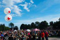Puistojuhlaa tuottamassa - Helsinki Pride 2019